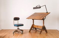 Anco Bilt Drafting Table Vintage Industrial And Tables