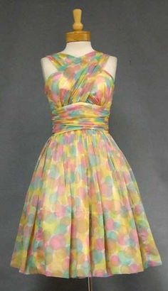 confetti dress #vintage #dress