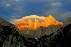 Sunrise over Mt Whitney by Jim Ross on 500px