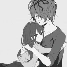 Hehe this anime couple is soo cute