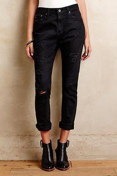 AG Devon Boyfit Jeans #anthropologie