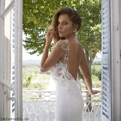 "Gorgeous Julie Vino ""Provence"" 2015 Bridal collection. #wedding #julievino #bridal"