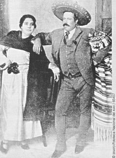 Pancho Villa & One Of His Wifes