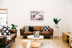 26 ideas for living room brown sofa ideas apartment therapy Ikea Living Room Furniture, Apartment Furniture, Living Room Decor, Living Rooms, Couch Furniture, Apartment Ideas, Living Room Ideas Australia, Living Room Cushions, Freedom Furniture