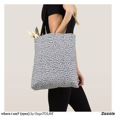 Shop blue and white abstract pattern tote bag created by OzgeTOLAK. Tote Pattern, Edge Design, White Elephant Gifts, Abstract Pattern, Reusable Tote Bags, Blue And White, Shoe Bag, Tofu Recipes, Shopping