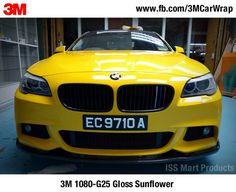 3M Scotchprint Wrap Film 1080-G25 Gloss Sunflower #3M1080 #3M #CarWrap #vinylwrap — in Singapore. #ISSMART  #paintisdead  #paintisdead