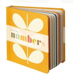 Orla Kiely Baby Books - I don't have kids but I still want this!