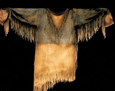 Buckskin Leather Shirts by Mike Guli of River Crossing Native American Clothing, Native American Regalia, Native American Art, American Indians, American Women, American History, Mountain Man Clothing, Hugh Glass, Mountain Man Rendezvous