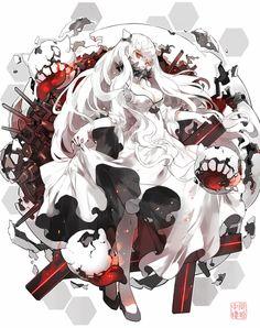 「中間棲姫」/「Nine」のイラスト [pixiv]