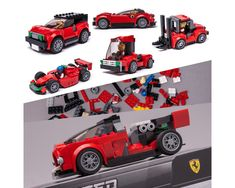 #KeepOnBricking LEGO Speed Champions set 75886 alternate moc compilation SIXX IN ONE. I updated PDF instructions of all these models designed a while ago therefore I thought it's a great idea to throw...