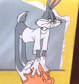 """Just about my favorite Bugs Bunny scene ever! The """"Bunny"""" of Seville / Looney Tunes Character Model Sheet, Character Modeling, The Barber Of Seville, Bugs Bunny, Bunny Rabbit, The Stooges, Classic Cartoons, When I Grow Up, Childhood Toys"""