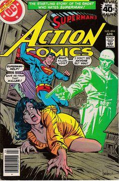 Action Comics Comic Book Covers for all Action Comics comic books for sale Dc Comic Books, Comic Book Artists, Comic Book Covers, Comic Art, Superman Action Comics, Superman Comic, Superman Photos, Old Comics, Vintage Comics