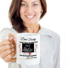 Dear daddy my hero coffee mug,dad mug,father day mug,pregnancy mug,baby announcement,pregnancy gift,father day gift,mom mug,gifts for dad by Bulwar on Etsy Fathers Day Mugs, Gifts For Father, Fly Fishing Gifts, Pregnancy Gifts, Dad Mug, Retirement Gifts, My Hero, Announcement, Daddy