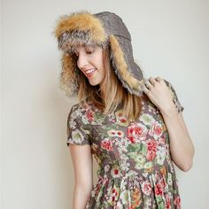 Thinking about sewing some holiday presents? Make a fur ear flap hat for family and friends with my FREE pattern from the blog!  Link in profile or search 'ear flap hat' on Sewbon.com
