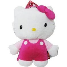 NWT Sanrio Hello Kitty Pink Soft Plush Backpack (JoyAve) ** Details can be found by clicking on the image.(It is Amazon affiliate link) #instadaily