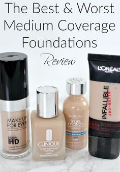 The Best and Worst Medium Coverage Foundations Review
