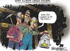 Global Warming Cartoons: Early Climate Change Deniers