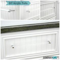DIY: Acrylic Drawer Pulls
