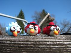 Angry birds - Lampwork