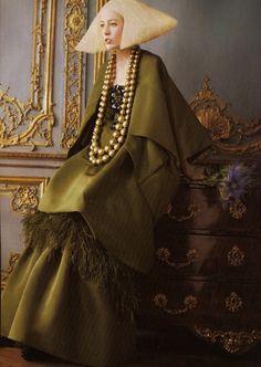 Raquel Zimmermann • David Sims • Grace Coddington • Vogue US