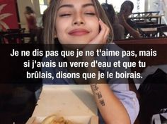 Image about blonde in humour by تونسية on We Heart It Image de garce and citation Bitch Quotes, Me Quotes, Motivational Quotes, Rap, We Heart It Images, Image Citation, Some Jokes, French Expressions, Teen Life