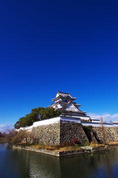 Japanese castle, Kishiwada-Jo  岸和田城