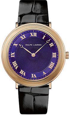 6bd932089ad Ralph Lauren 32 MM Rose Gold- 7112style.website -