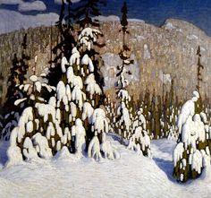 Winter Landscape c.1916 Lawren Harris