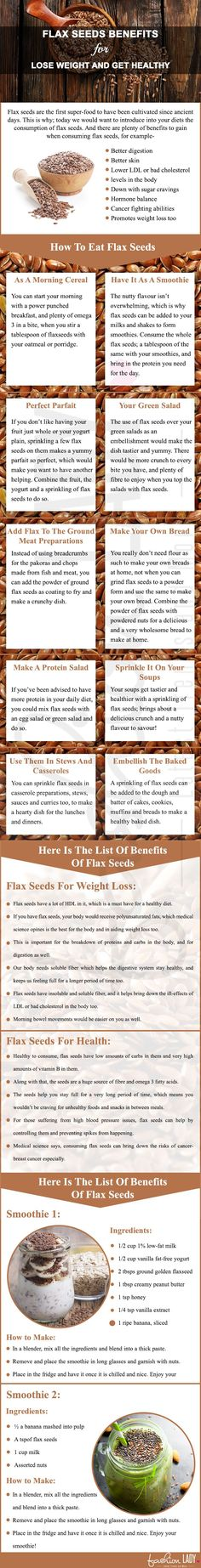 11 Flax Seeds Benefits For Lose Weight And Get Healthy