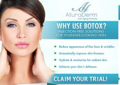 Allura Derm Wrinkle Cream Review - Accomplishing stunning and everlasting skin do not need to come at the fee for Botox treatment or medical techniques.