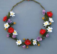 Hey, I found this really awesome Etsy listing at https://www.etsy.com/listing/225929553/felt-wildflower-wreath-summer-wreath