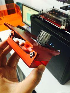 フラッシュフォージ光造形3Dプリンター Explorer(エクスプローラー)で径0.03mm立体網をプリントしました。 www.flashforge.co.jp FLASHFORGE JAPAN