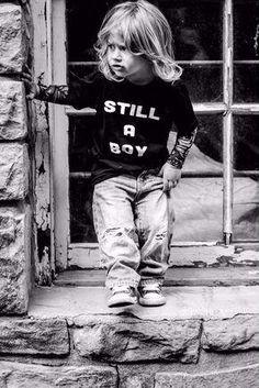 Still A Boy - Kids T-shirt - - kinderhaarschnitt jungen - Kids Style Little Boy Long Hair, Toddler Boy Long Hair, Toddler Boy Haircuts, Toddler Boys, Biy Haircuts, Boys With Long Hair, Toddler Boy Fashion, Toddler Outfits, Baby Boy Outfits