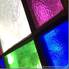 Day 28 - stained glass