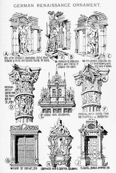 German Renaissance ornament A History of Architecture on the Comparative Method by Sir Banister Fletcher