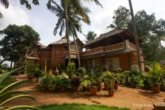 Main building of Ayurveda Healing Ashram