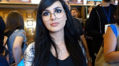 THREATENED TO SHUT DOWN MY CHANNEL Sssniperwolf, Youtubers, Love Her, Most Beautiful, Halloween Face Makeup, Channel, My Favorite Things, Memes, Celebrities