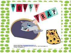 Mouse is trying to get to a yummy piece of cheese, but he has to watch out for cat (who wants to eat him). Kids gets lots of practice reading cvc w...