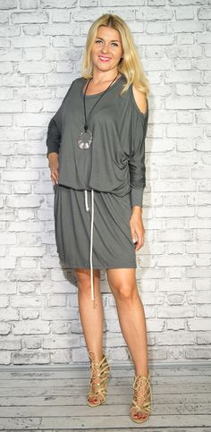 Photo Sessions, Cold Shoulder Dress, Casual, Dresses, Fashion, Tunic, Vestidos, Moda, Fashion Styles