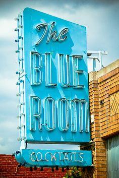 The Blue Room.... Burbank, CA