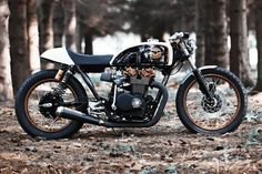 Honda CB550 Cafe Racer by Renard Speed Shop #motorcycles #caferacer #motos | caferacerpasion.com