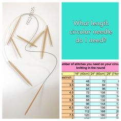 What Length Circular Needle Do I Need Frogginette Knitting Patterns ~ welche länge kreisförmige nadel brauche ich frogginette strickmuster ~ quelle longueur d'aiguille circulaire ai-je besoin de modèles de tricot frogginette Double Knitting Patterns, Circular Knitting Needles, Crochet Patterns For Beginners, Knitting For Beginners, Sewing Patterns, Knit Patterns, Baby Hats Knitting, Hand Dyed Yarn, Craft Stick Crafts