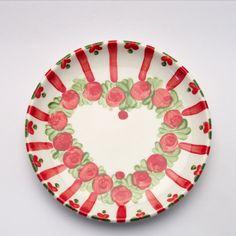 vincent Decorative Plates, Tableware, Design, Home Decor, Red, Green, Dishes, Dinnerware, Interior Design