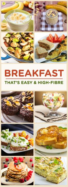 Looking for some really good fibre filled breakfast ideas?