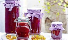 Dżem śliwkowy - luksusowy wzbogacony rodzynkami i nutą wina #recipe Dr. Oetker Polska