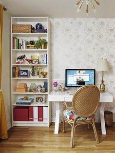 escritório, home office, decoração, casa