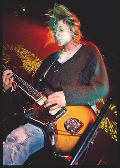 Se souvenir de Kurt Cobain avec un cliché de Steve Gullick