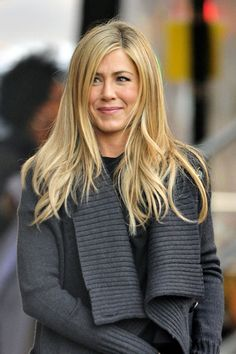 Jennifer Aniston in Jennifer Aniston Films 'Wanderlust' in Greenwich Village 2