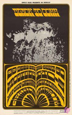 Classic Poster - Apostles at Grande Ballroom 9/29 & 30/67 by Gary Grimshaw & Leni Sinclair