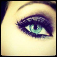 Ksenia Solo eye makeup